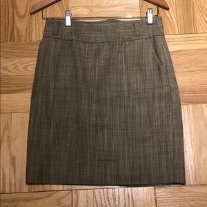 Virgin wool (summer) pencil skirt (part of suit)